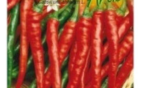 Paprika kozí roh Artist - 40 semen - dodání do 2 dnů