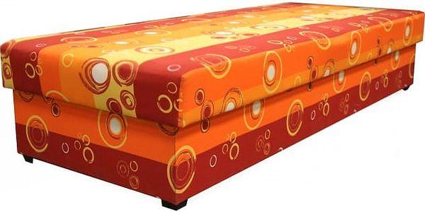 Válenda Iveta (oranžová)