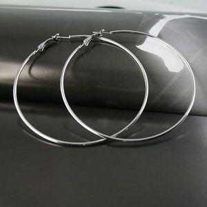 Náušnice - velké kruhy - dodání do 2 dnů