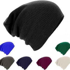 Stylová pletená čepice Baggy