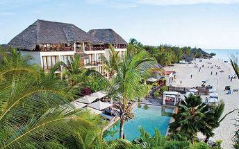 Zanzibar - Nungwi na 9 dní, polopenze nebo snídaně s dopravou letecky z Prahy