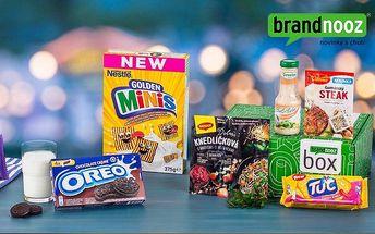 """Brandnooz box – balíček potravin """"Nezávazně spolu"""""""