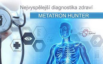 Vyspělá diagnostika zdravotního stavu přístrojem Metatron + 3D skenování a konzultace