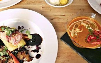 30% sleva na účet v restauraci La Riviere na břehu Vltavy