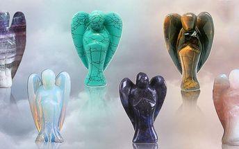 Osobní ochranní andělé z nádherných polodrahokamů