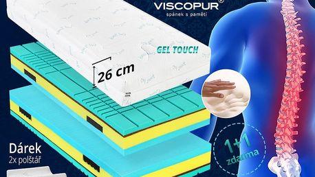Ortopedická matrace pro bolavá záda Viscopur® VERTEBRA 26cm