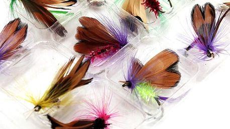 Rybářské návnady různých barev - 12 ks