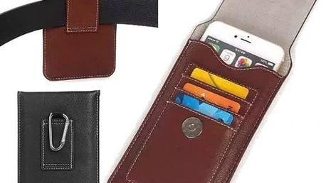 Kapsa na smartphone na opasek - poštovné zdarma