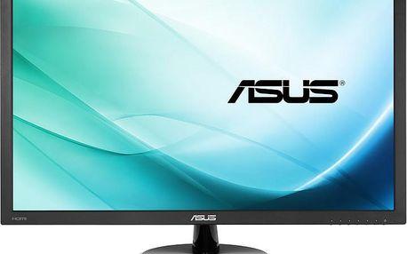 "Asus MT 23.6"" VP247H 1920x1080 TN-LED, 1ms, matný, 250cd, repro, D-SUB, HDMI, DVI, eye-care"