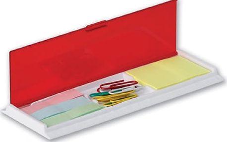 Pravítko se sponkami a lepícími papírky - dodání do 2 dnů