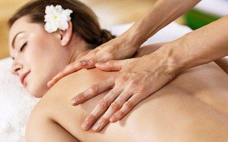 Relaxace těla i duše - aroma masáž