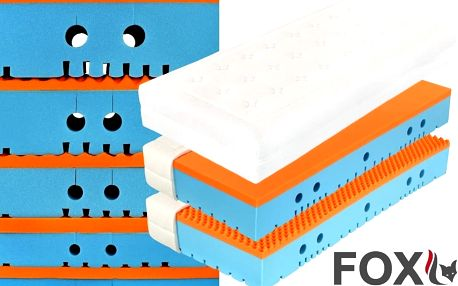 Ortopedická matrace Tropico FOX visco 28 cm