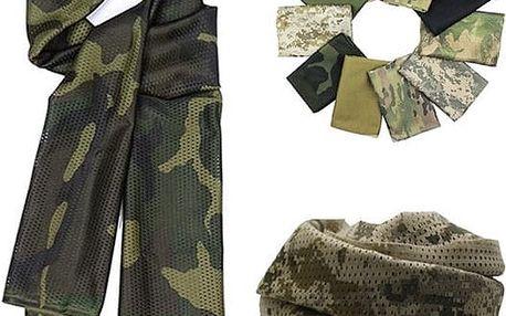 Pánský vojenský šál - mnoho variant