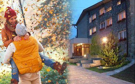 Podzim v Slovenském ráji! Pobyt ve 3* hotelu s polopenzí - nejvýhodněji v týdnu