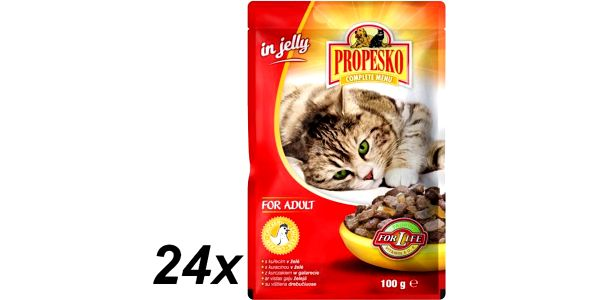 Propesko kapsa kočka kuřecí v želé 24 x 100g