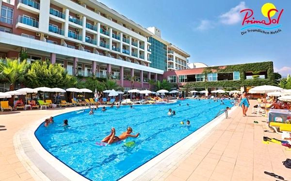 Turecko, Alanya, letecky na 5 dní s all inclusive