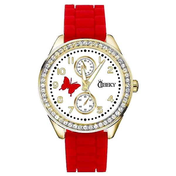 Dámské hodinky Cheeky HE018 červené