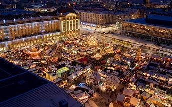Drážďany: výlet pro 1 osobu na vánoční trhy. 4 termíny + doprava z Prahy a dalších 5 měst