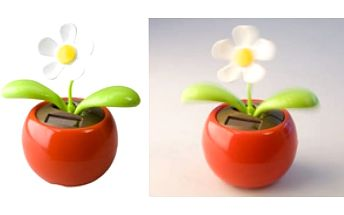 Tančící květina na solární energii - skladovka - poštovné zdarma