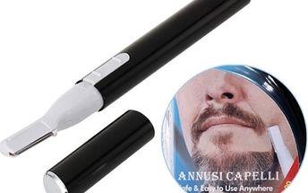 Elektrický zastřihávač obočí a vousů - poštovné zdarma