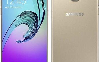 Mobilní telefon Samsung Galaxy A5 2016 (SM-A510F) (SM-A510FZDAETL) zlatý