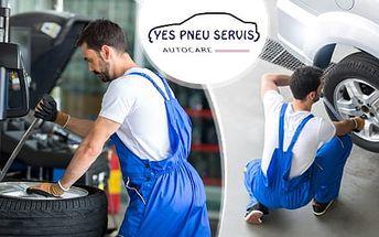 Výměna celých kol či přezutí všech velikostí pneu vč. SUV, dodávek, OffRoadů.