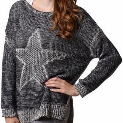 Dámský svetřík s hvězdou Star