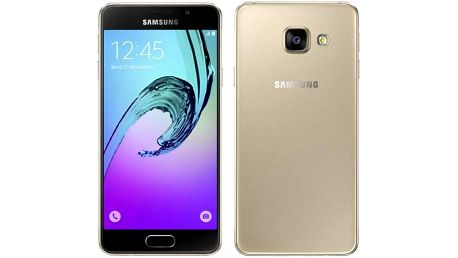 Mobilní telefon Samsung Galaxy A3 2016 (SM-A310F) (SM-A310FZDAETL) zlatý