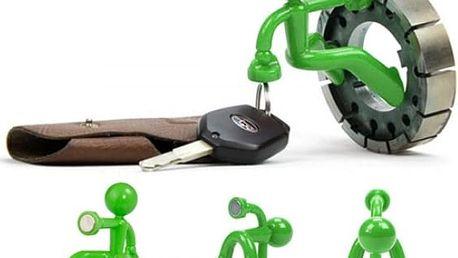 Magnetický držák na klíče - různé barvy