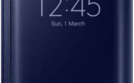 Pouzdro na mobil flipové Samsung Clear View pro Galaxy S6 Edge (EF-ZG925B) (EF-ZG925BBEGWW) černé