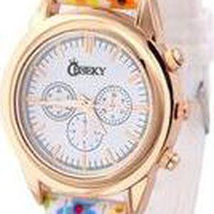 Dámské hodinky Cheeky HE004 motiv kytek
