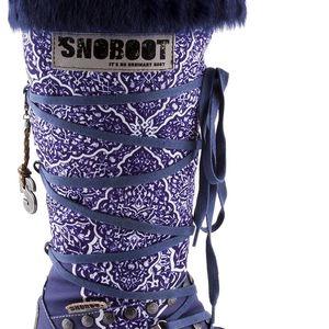 Snoboot - Luxusní módní sněhule Istanbul Blue - velikost 38