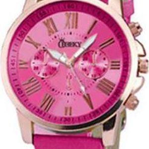 Dámské hodinky Cheeky HE016 zářivě růžové