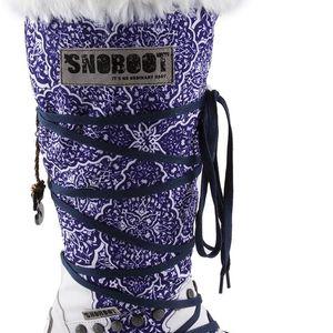 Snoboot - Luxusní módní sněhule Istanbul White - velikost 40