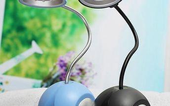 Flexibilní LED lampička na stůl