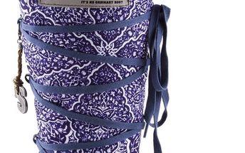 Snoboot - Luxusní módní sněhule Istanbul Blue - velikost 39