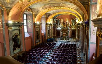 Koncerty vážné hudby vcentru Prahy