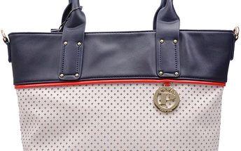 Pabia - Dámská kabelka s perforováným vzorkem BAG5120-013