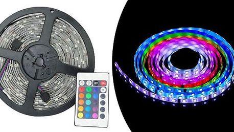 Barevný LED pásek 5 m