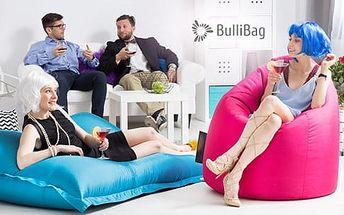 Sedací pytel Bullibag včetně poštovného na vnitřní i venkovní použití - různé modely