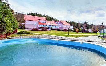Relax pro DVA s procedurami a polopenzí ve středních Čechách na Křivoklátsku