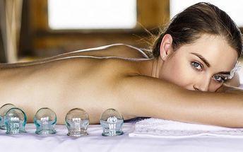Baňková masáž pro dokonalé uvolnění