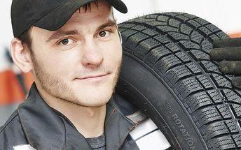 Přezutí pneumatik - otevřeno v sobotu i v neděli do večera!