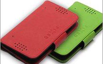 Chraňte si svůj telefon stylově. FIXED oboustranné pouzdro na mobil ze syntetické kůže. Špičková kvalita za skvělou cenu!