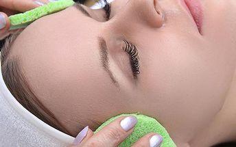 Hloubkové čištění pleti s možností aplikací ozonizéru v pražském salonu Beauty.