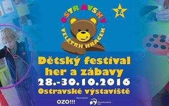 Vstupenka na dětský festival her a zábavy