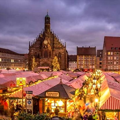 Adventní zájezd Norimberk na vánoční trhy, památky