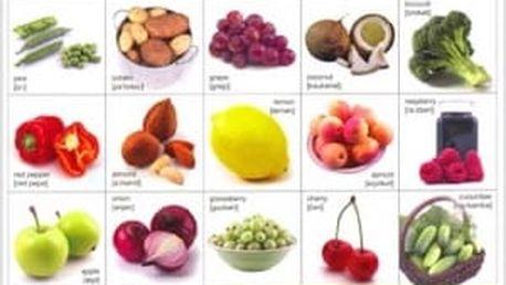 Pexeso - Ovoce a zelenina - dodání do 2 dnů