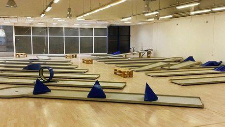 90minutový Indoor Minigolf v OC Futurum Brno