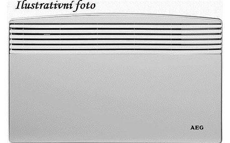 Teplovzdušný konvektor AEG-HC WKL 2503 U bílý + Doprava zdarma